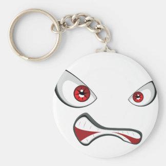 Chaveiro Cara má com olhos 2 do vermelho