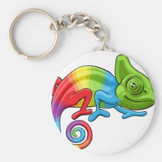 Chaveiro Caráter do arco-íris dos desenhos animados do