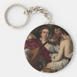 Chaveiro Caravaggio - músicos - trabalhos de arte clássicos