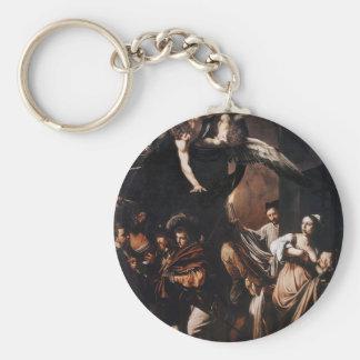 Chaveiro Caravaggio - os sete trabalhos da pintura do