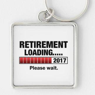 Chaveiro Carga 2017 da aposentadoria