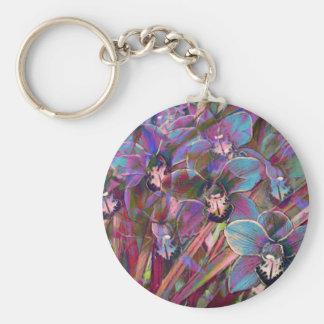 Chaveiro Carnaval da orquídea do Cymbidium