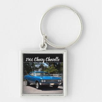 Chaveiro Carro 1966 grande do músculo do bloco de Chevy