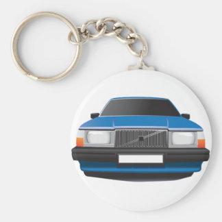 Chaveiro Carro clássico sueco do anos 80 - os anos 90
