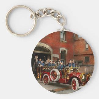 Chaveiro Carro de bombeiros - o esquadrão 1911 do vôo