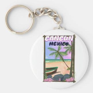 Chaveiro Cartaz da praia de Cancun México