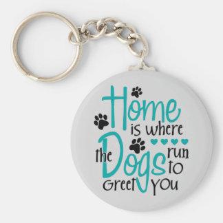 Chaveiro Casa com cão