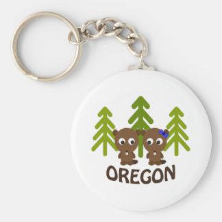 Chaveiro Casal bonito Oregon do castor