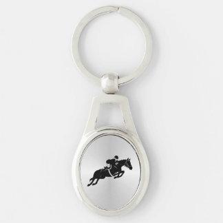 Chaveiro Cavalo equestre da ligação em ponte