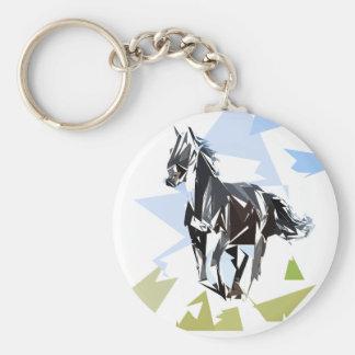 Chaveiro Cavalo preto