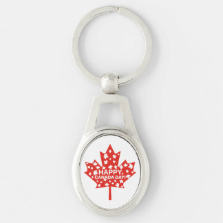 Chaveiro Celebração do dia de Canadá