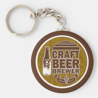 Chaveiro Cervejeiro Brown da cerveja do artesanato