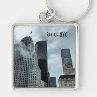 Chaveiro Céu da Nova Iorque