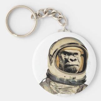 Chaveiro Chamuscadela espacial   de l'e de Gorila Raum-Affe