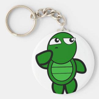 Chaveiro chave-corrente bonito da tartaruga