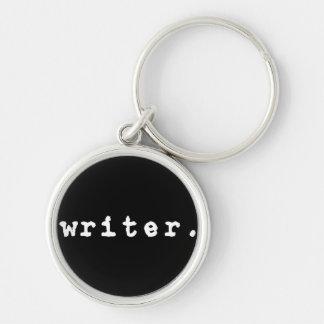 chaveiro chave do estilo da máquina de escrever -