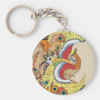 Chaveiro chinês phoenix