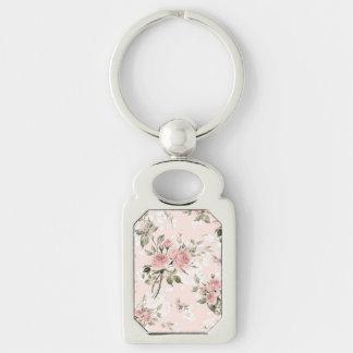Chaveiro Chique, chique francês, vintage, floral, rústico,