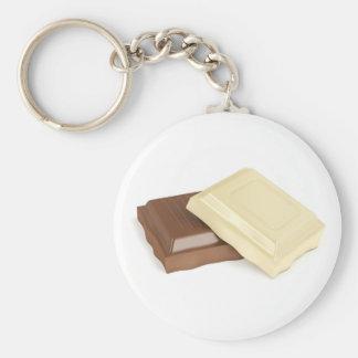 Chaveiro Chocolate branco e marrom