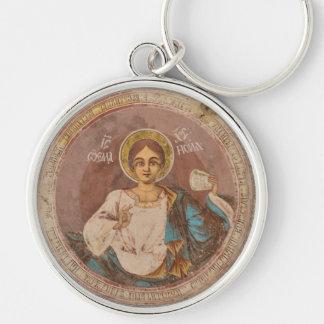 Chaveiro chri ortodoxo de jesus do deus da religião da