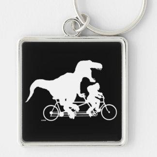 Chaveiro Ciclismo ido de Squatchin com T-rex