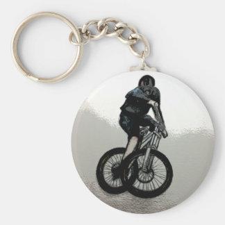 Chaveiro CICLISTA do motociclista MTB BMX da montanha