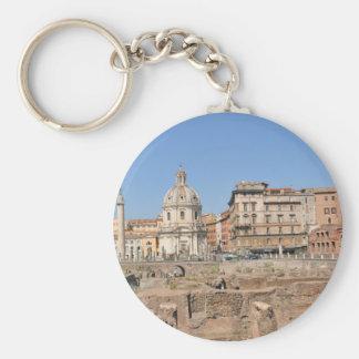 Chaveiro Cidade antiga de Roma, Italia
