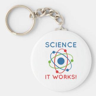Chaveiro Ciência que trabalha!