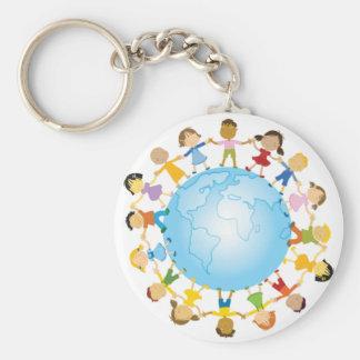 Chaveiro Círculo das crianças em todo o mundo