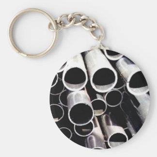 Chaveiro círculos empilhados do aço