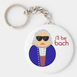 Chaveiro clássico do compositor da música de Bach