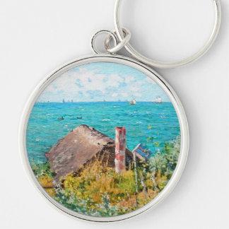 Chaveiro Claude Monet a cabine em belas artes do