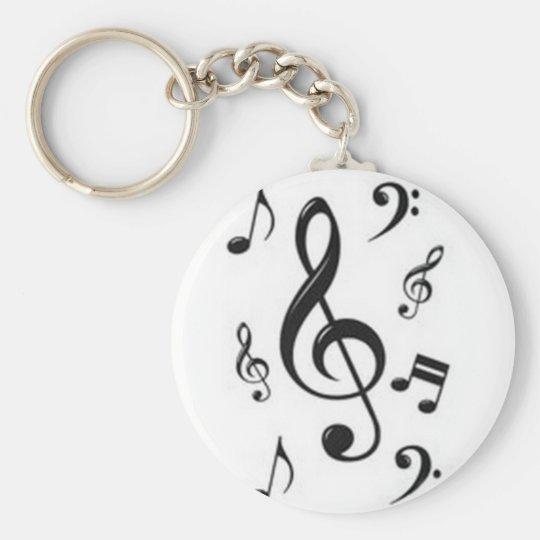 chaveiro claves musicais zazzlecombr