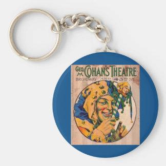 Chaveiro cobrir do playbill do teatro de Cohan do 1920
