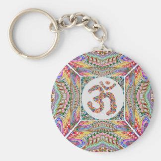 Chaveiro Coleção da jóia da mantra do OM
