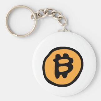Chaveiro coleção do bitcoin
