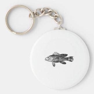 Chaveiro Coleção do mar do pescador dos peixes