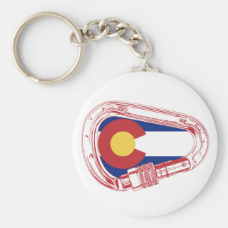 Chaveiro Colorado que escala Carabiner