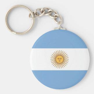 Chaveiro com a bandeira de Argentina