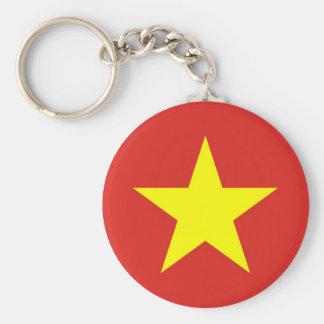 Chaveiro com a bandeira de Vietnam