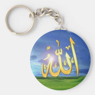Chaveiro com o nome de Allah
