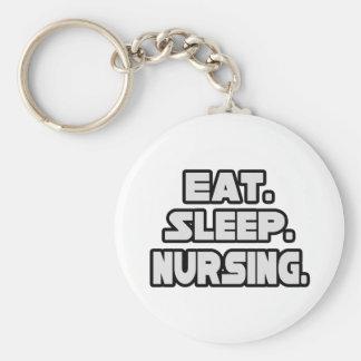 Chaveiro Coma cuidados do sono