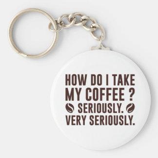 Chaveiro Como I toma meu café