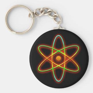 Chaveiro Conceito atômico