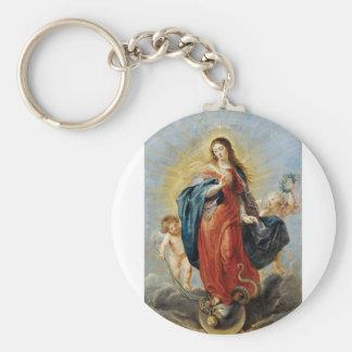 Chaveiro Concepção imaculada - Peter Paul Rubens