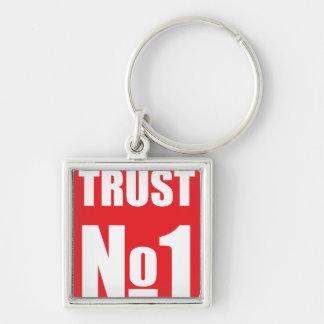 Chaveiro Confiança ninguém