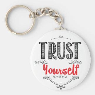 Chaveiro confiança você mesmo