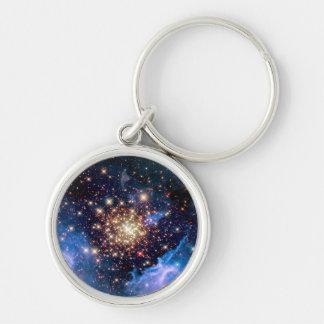 Chaveiro Conjunto de estrela de NGC 3603 - foto do espaço