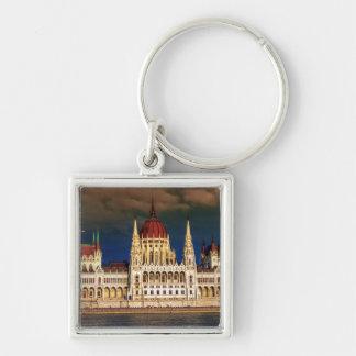 Chaveiro Construção húngara do parlamento em Budapest,