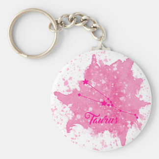 Chaveiro cor-de-rosa do Taurus